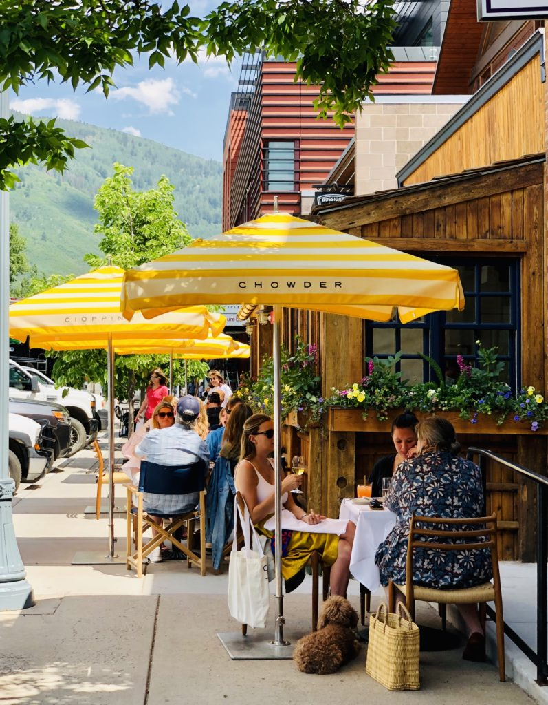 Aspen Restaurants Are Open!