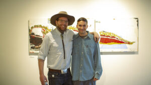Aspen Local Artist Axel Livingston at the Gonzo Gallery: It Never Got Weird Enough For Me